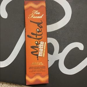 Too Faced Melted Matte Pumpkin Spice Limited